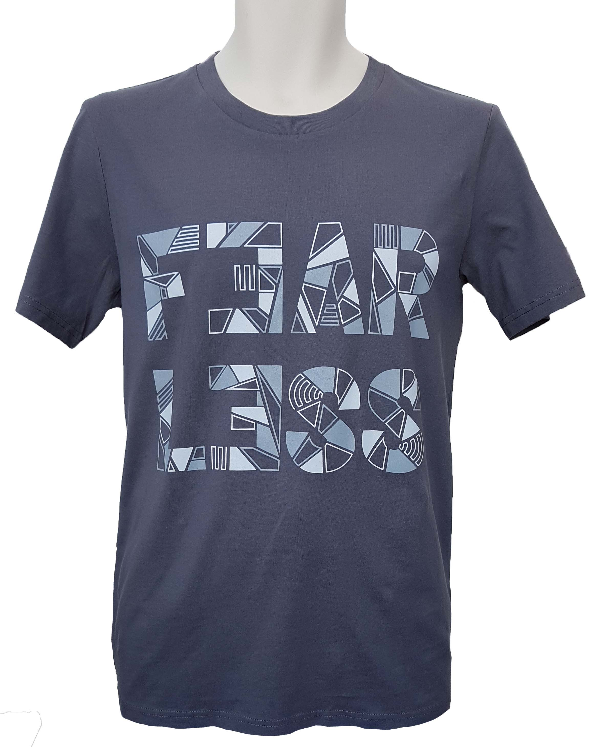 A picture of the new fearless t shirt