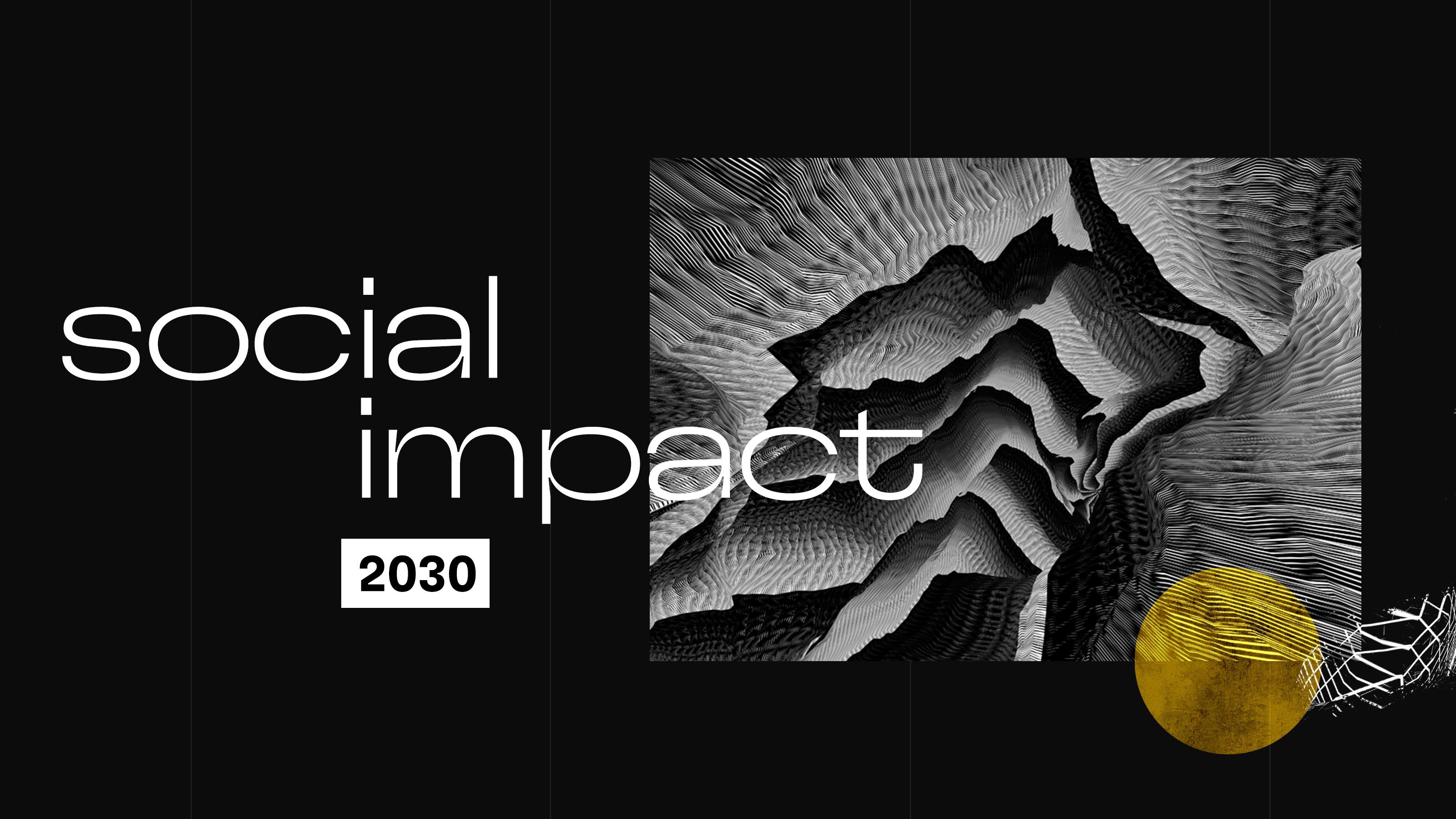 Social impact graphic