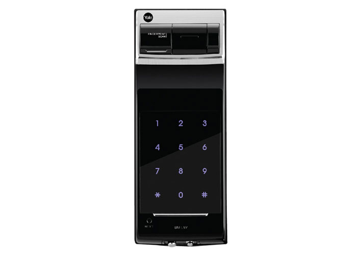 Premium Biometric Fingerprint Digital Door Lock (Rim Lock)