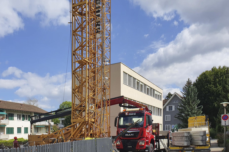 Fotografie Baubeginn FELZ ZWEI