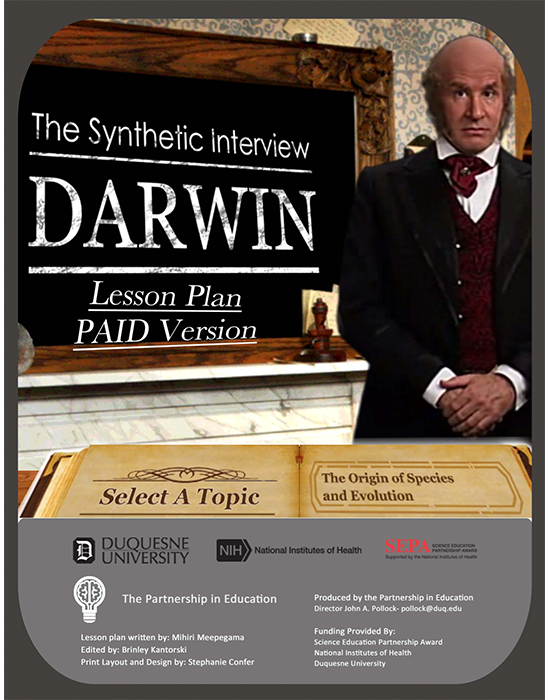 Charles Darwin Synthetic Interview (Paid Version) Lesson Plan