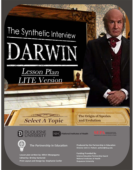 Charles Darwin Synthetic Interview (Lite Version) Lesson Plan