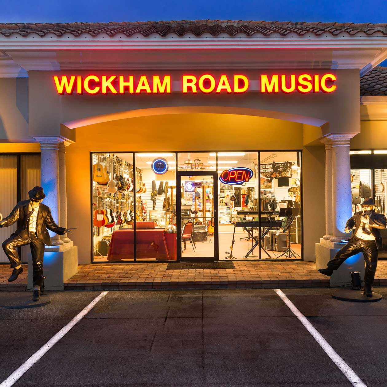Wickham Road Music Store Front