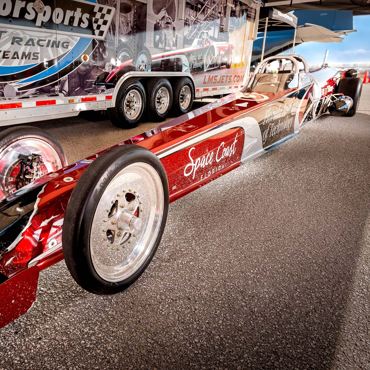 LMS Jets Dragster
