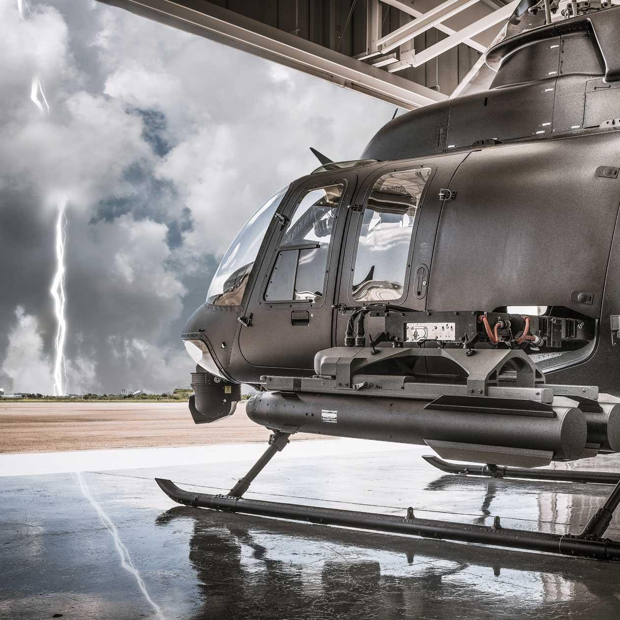 NSA 407 MRH Lightning Strike