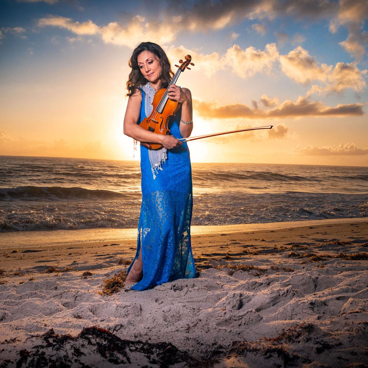 Mariana Sunset Violinist