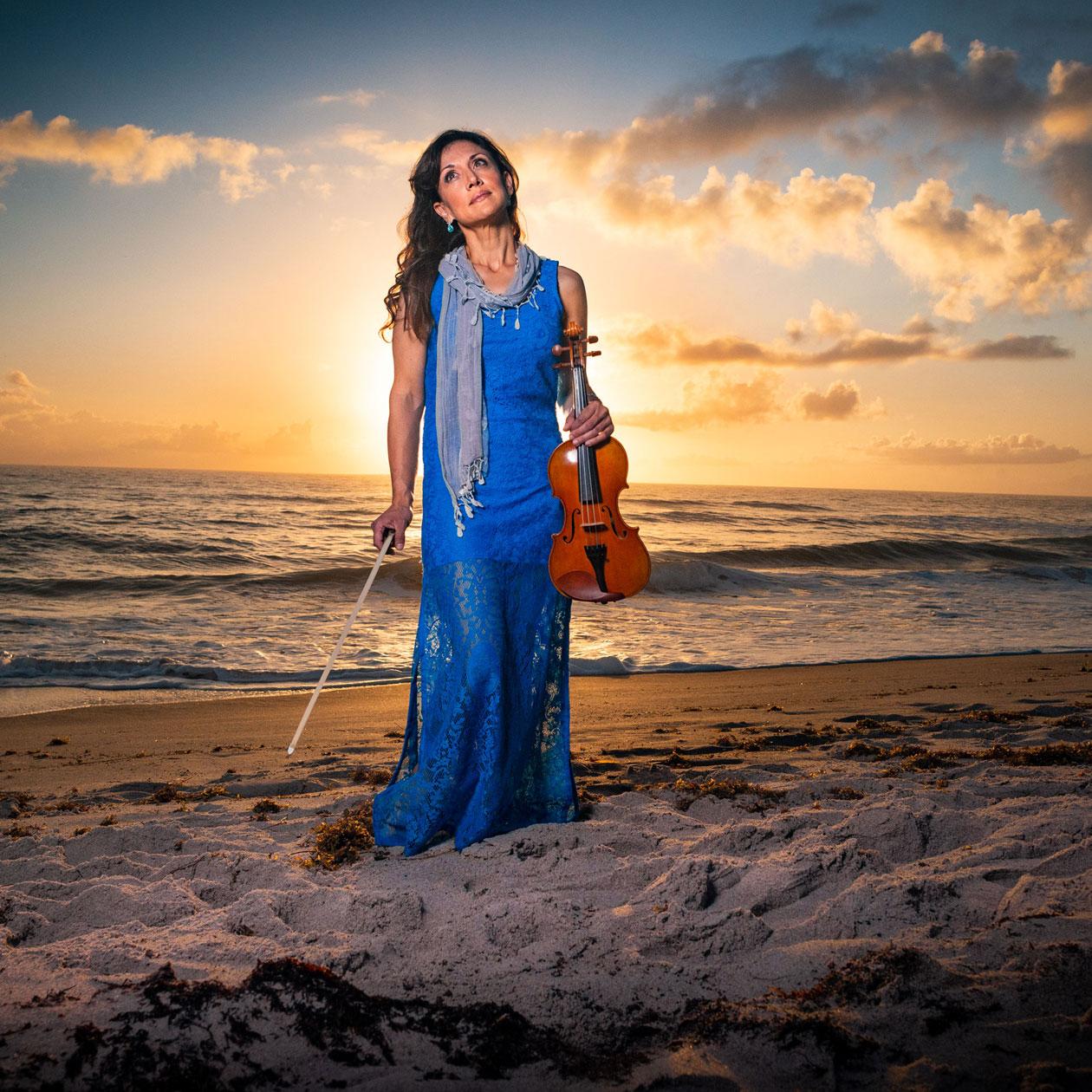 Mariana Sunset Violinist #2