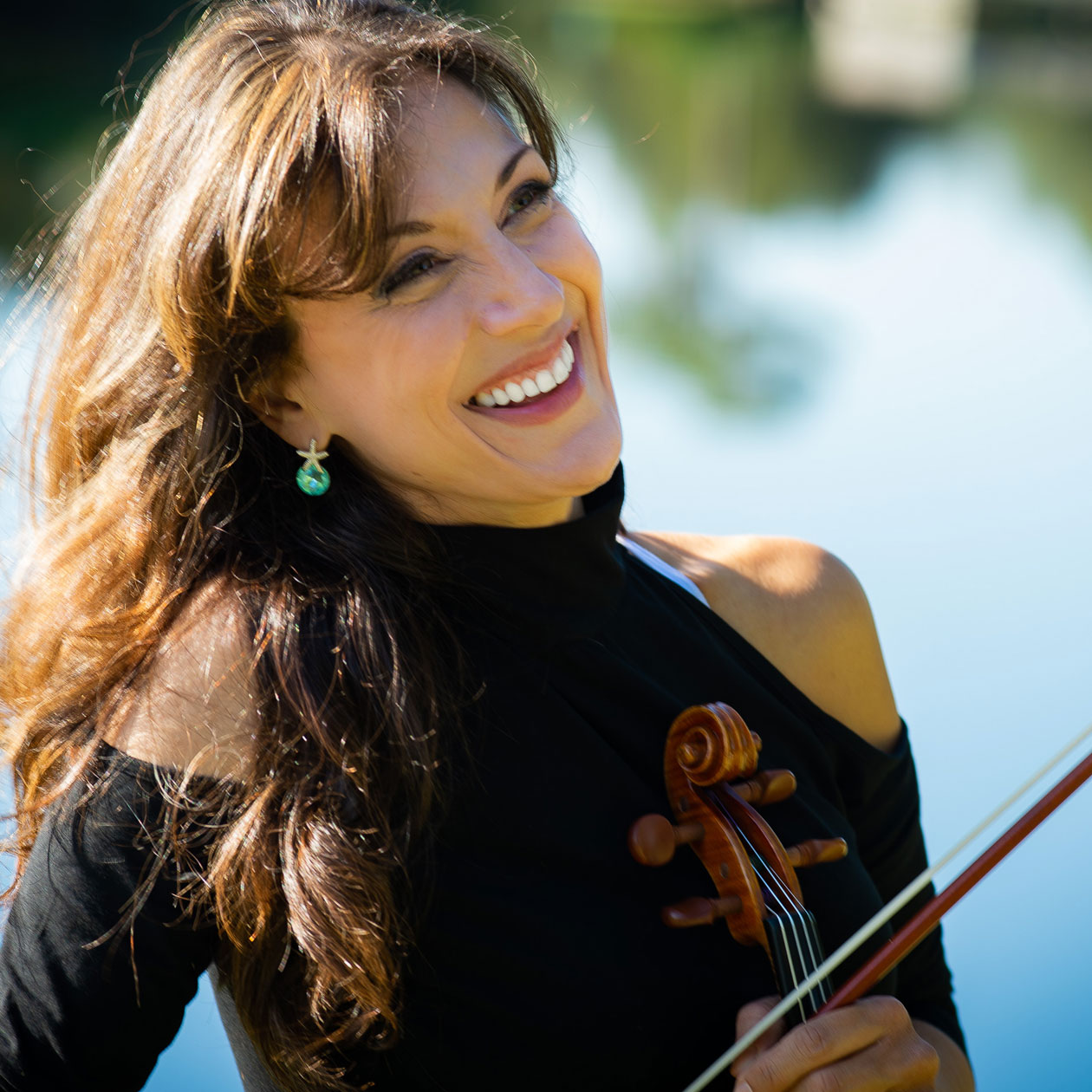 Mariana Lake Violinist