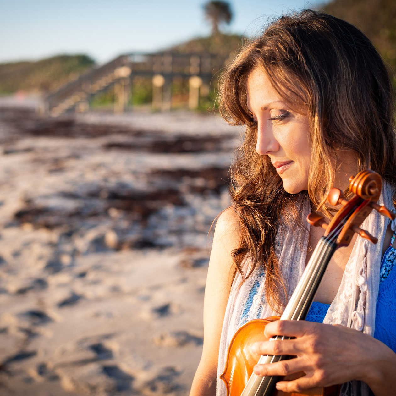 Mariana Sunset Violinist #3