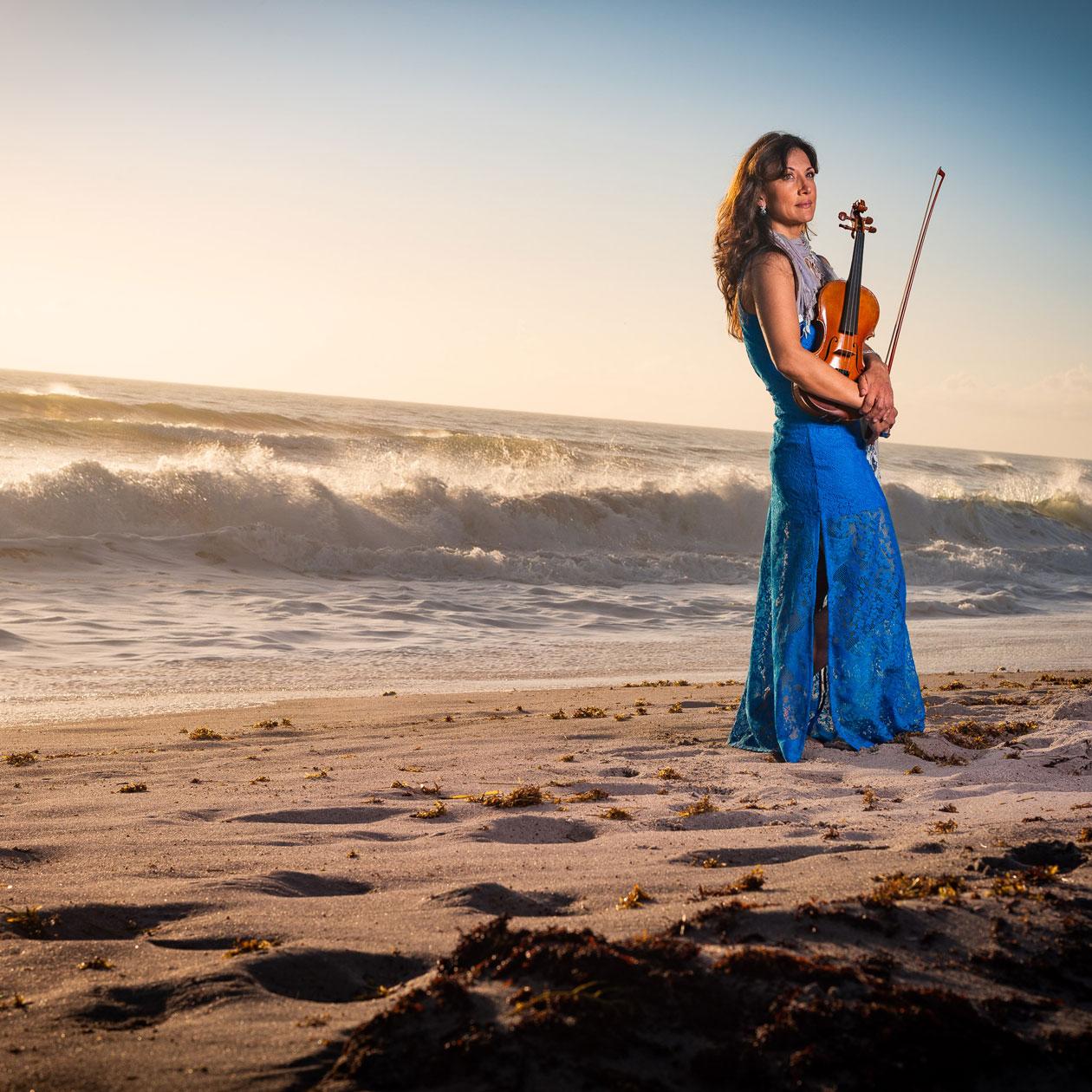 Mariana Sunset Violinist #5