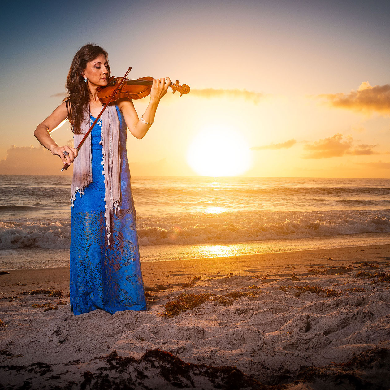 Mariana Sunset Violinist #6