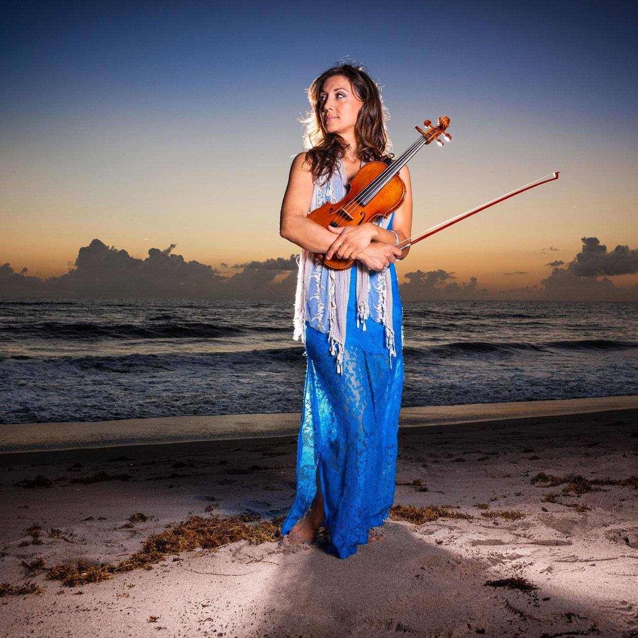 Mariana Sunset Violinist #7