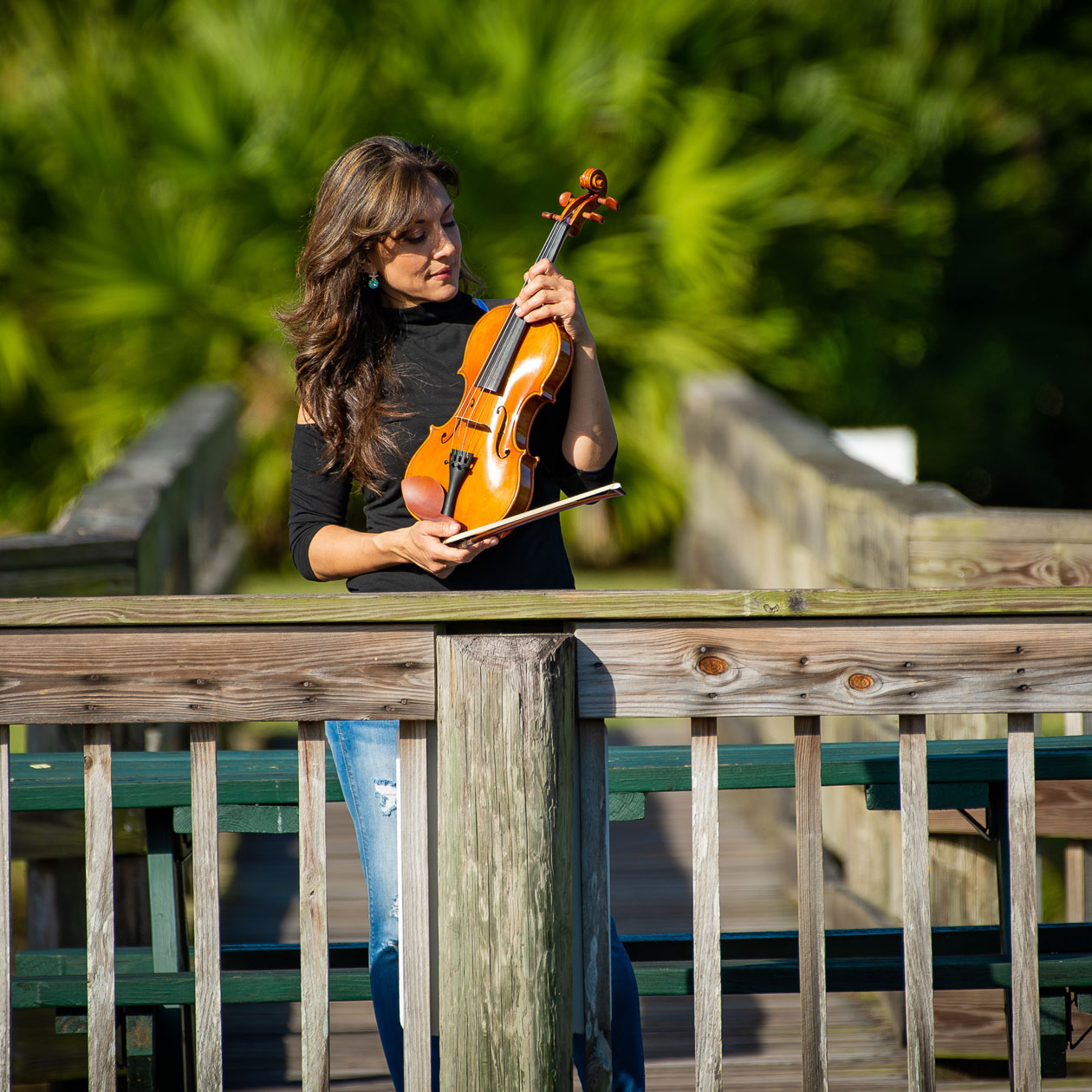 Mariana Lake Violinist #3