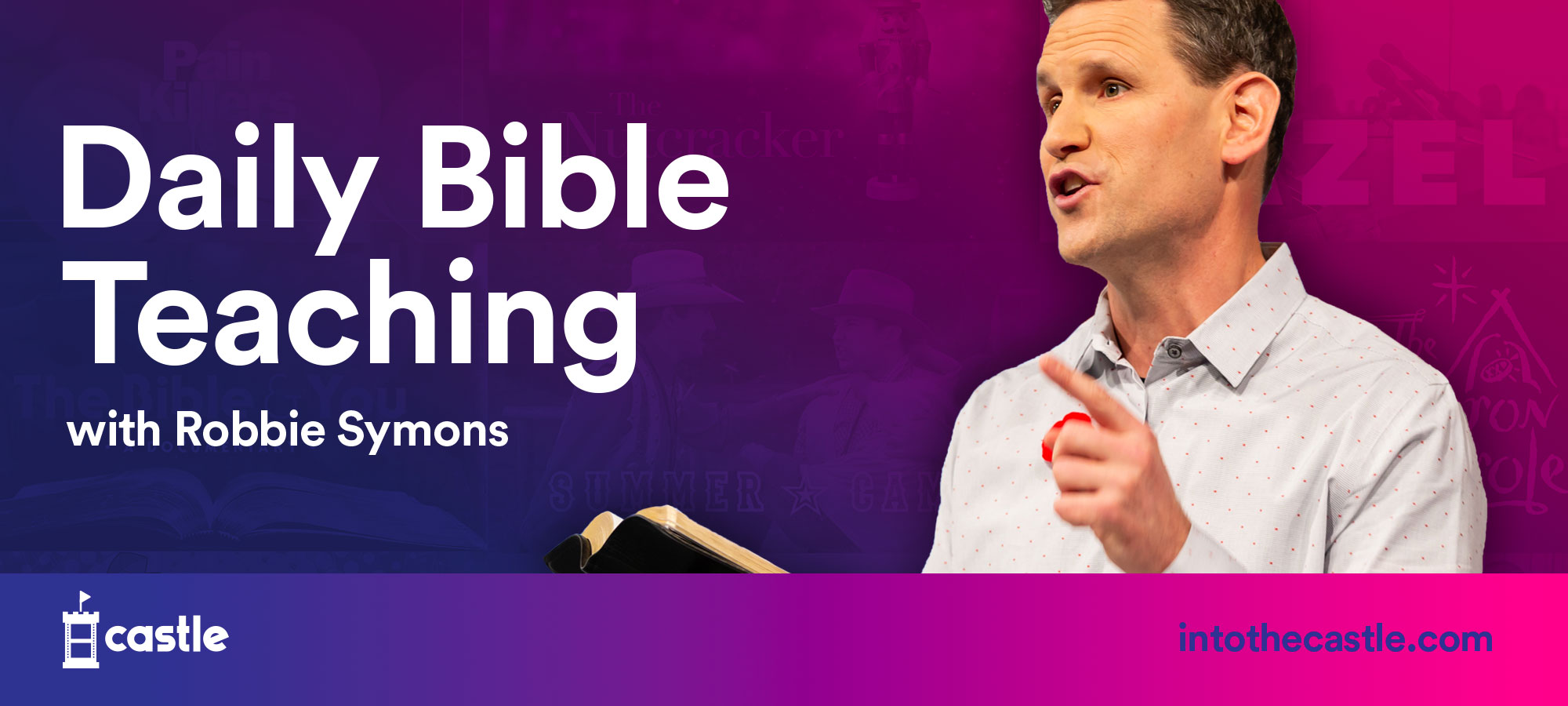 Daily Bible Teachings with Robbie Symons