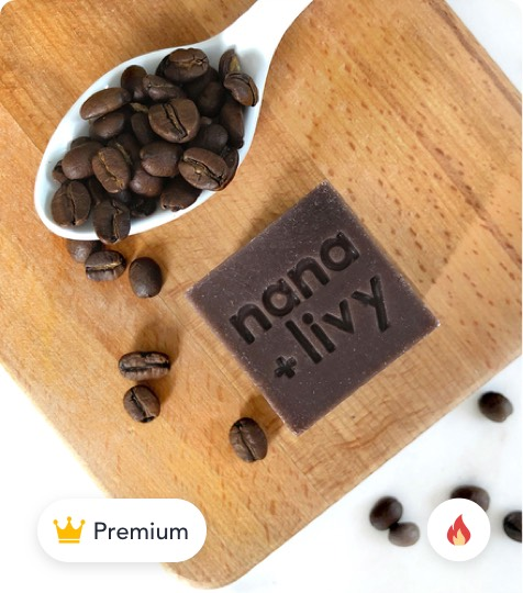 Coffee Soap Block product
