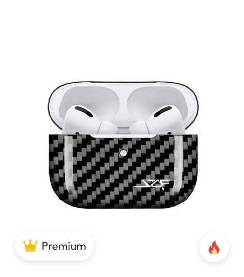 AirPods PRO Real Carbon Fiber Case product