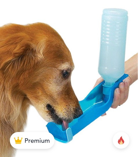 Foldable Pet Dog Cat Water Drinking Bottle product