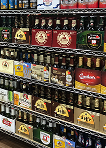 Imported beer category