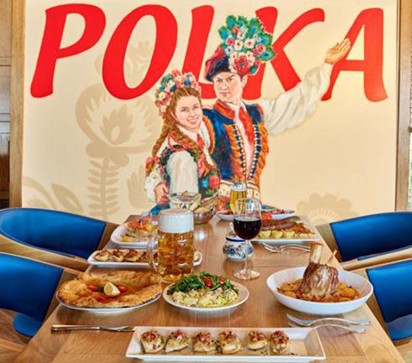 Polka Restaurant & Banquet Hall logo