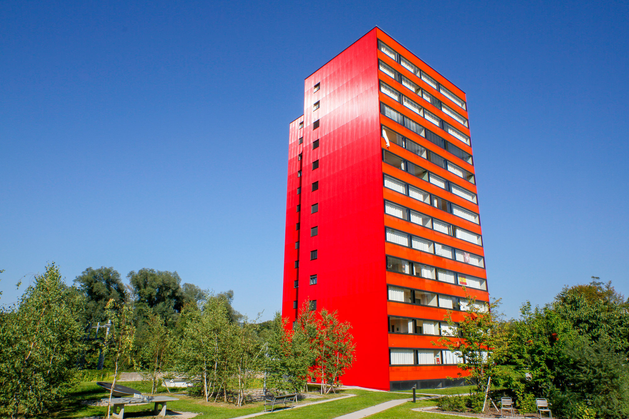 Hochhäuser Glanzenbergstrasse