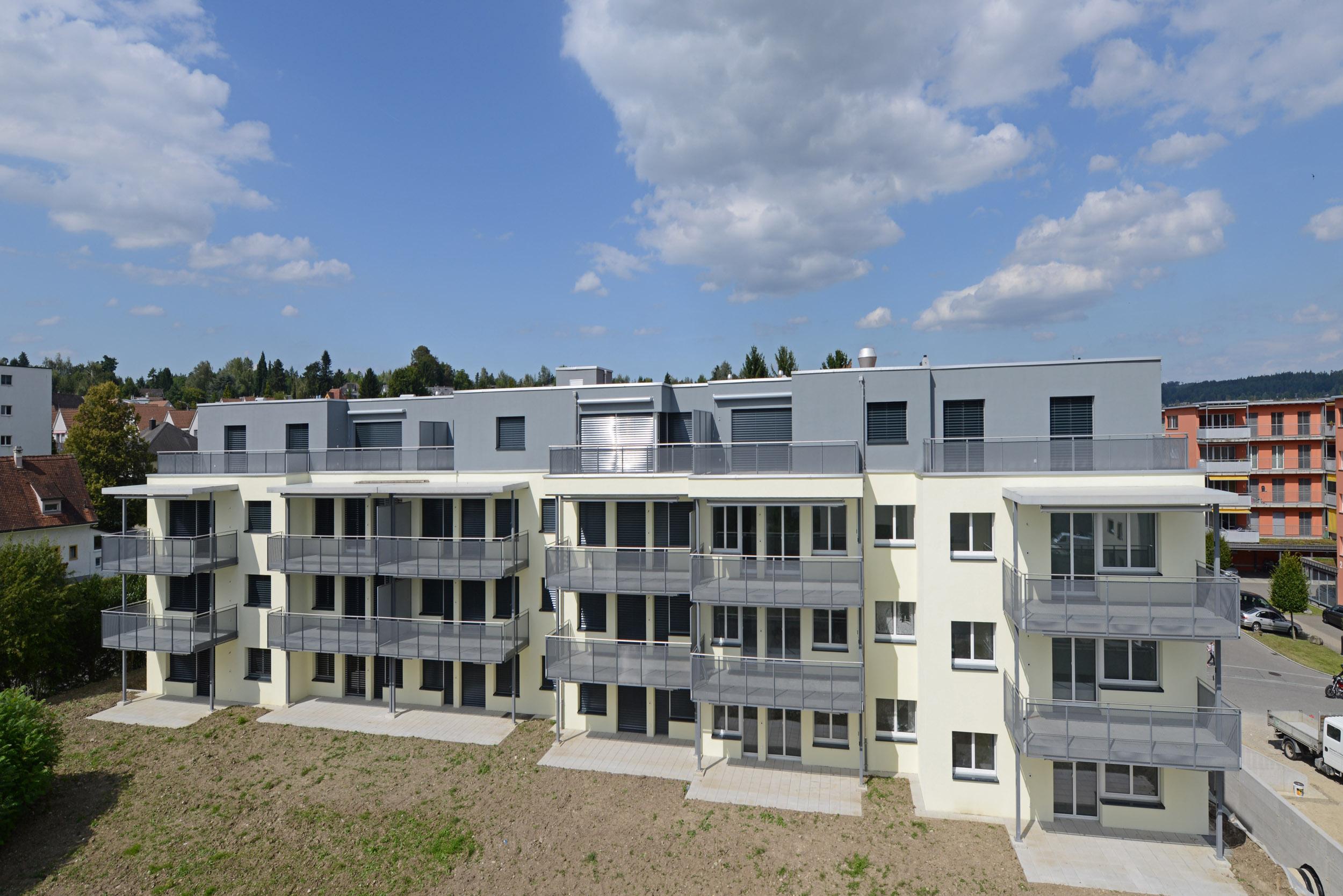 Sanierung und Dachaufstockung Hofwiesenstrasse