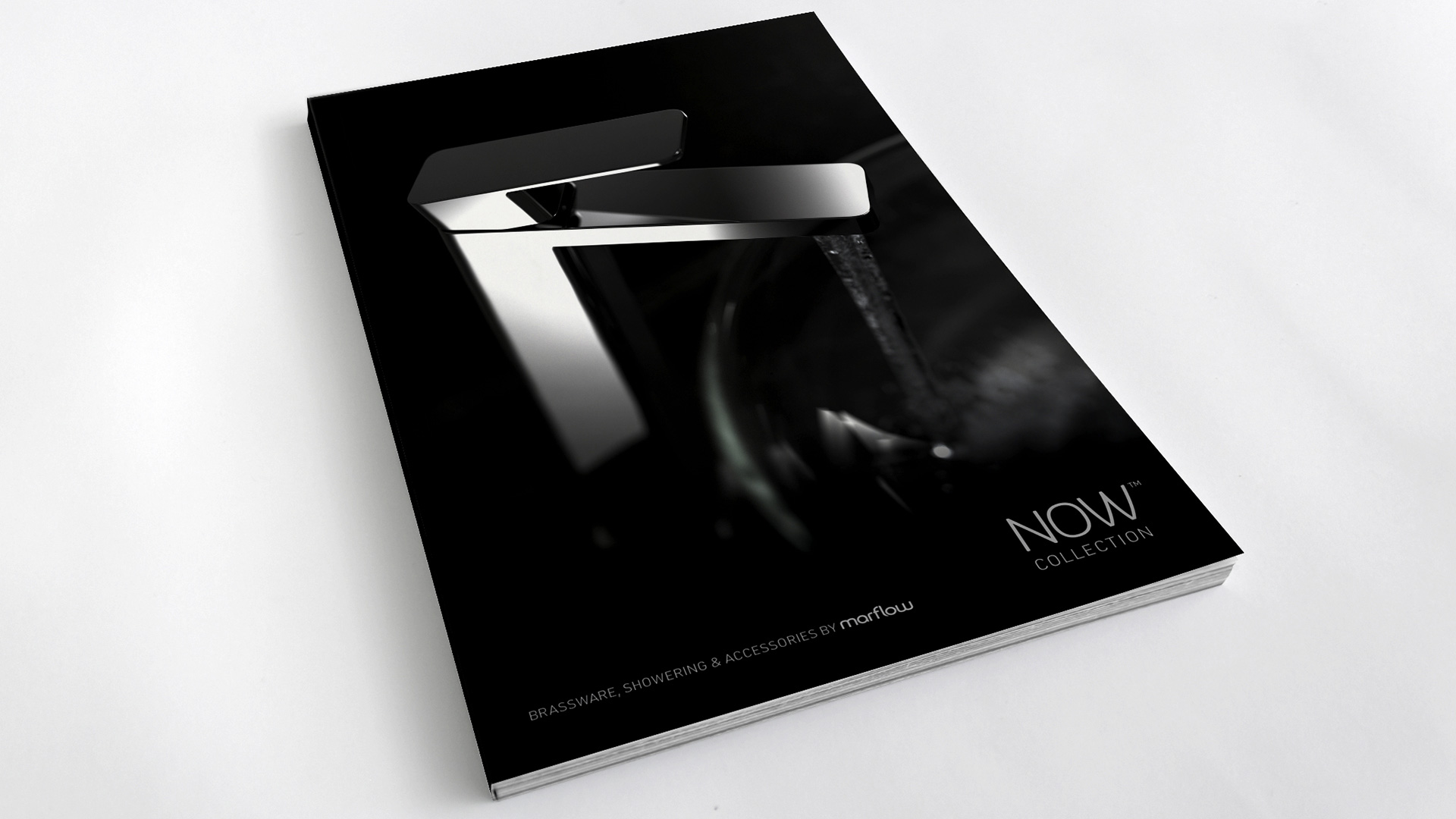 of Now Collection brochure cover