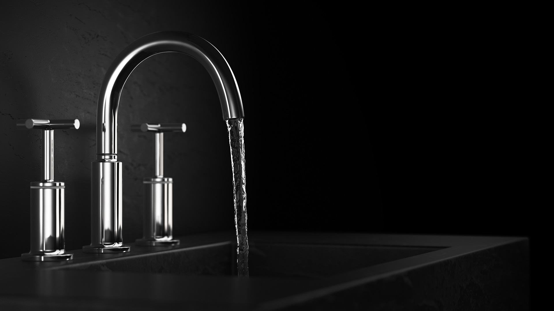 image of NOW 3 hole basin mixer tap