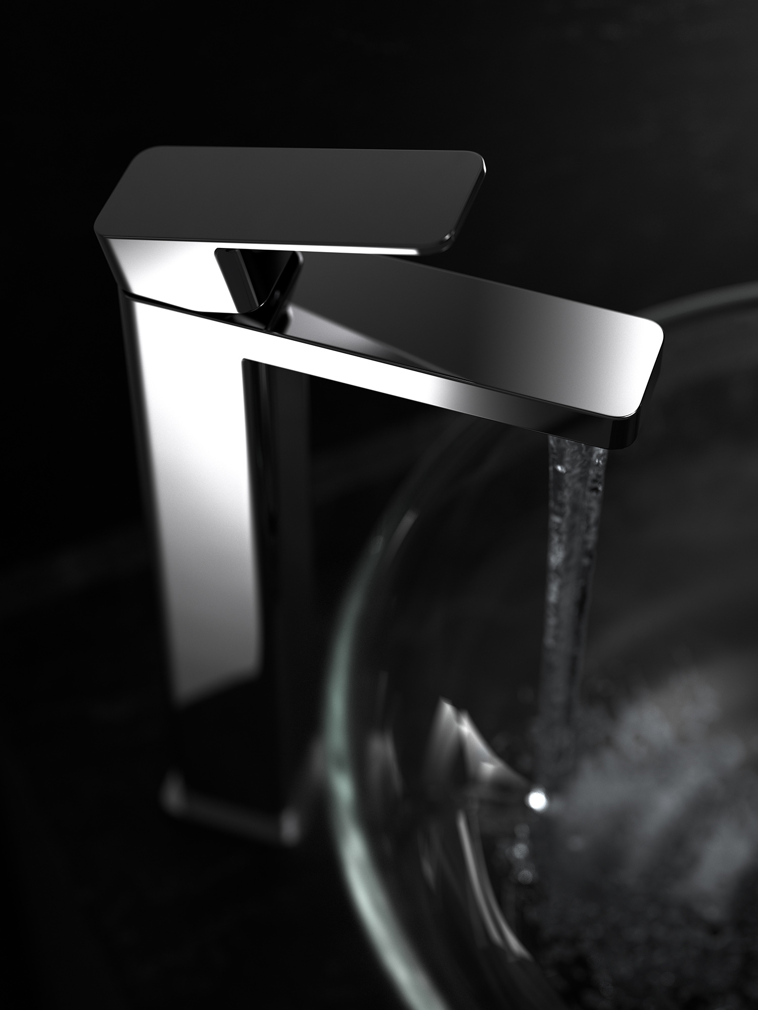 image of NOW Collection mono basin tap