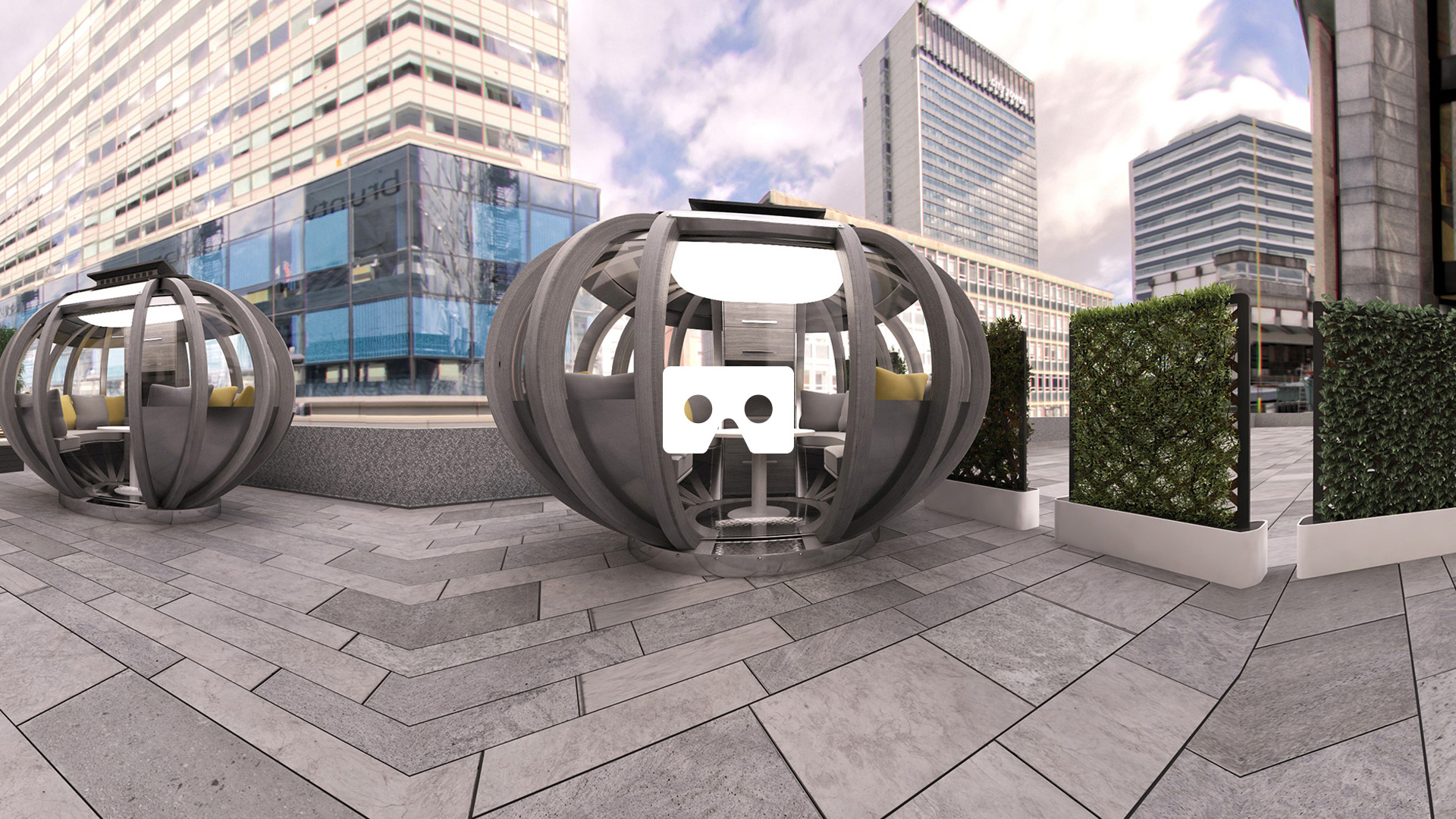 Still image of building VR tour