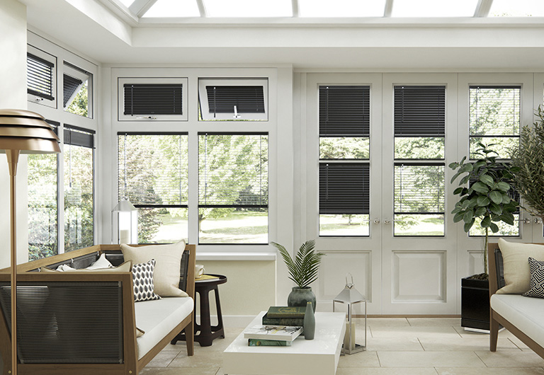 image of conservatory with 247 Blinds