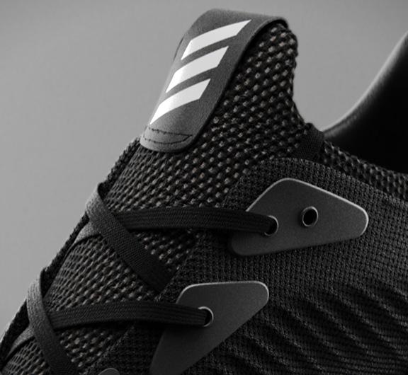 close up of adidas alphabounce shoe