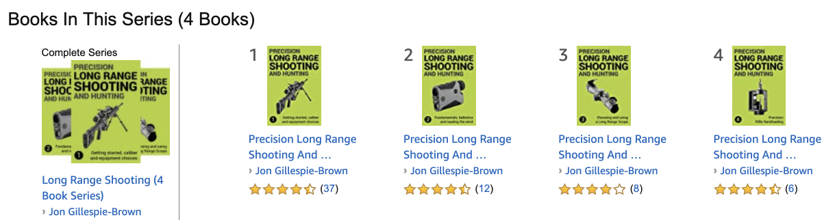 Precision Long Range Shooting And Hunting Series