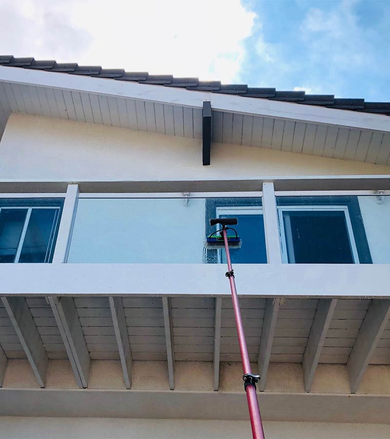 Window cleaning in South Bay