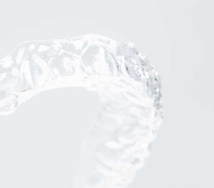 Photo of Invisalign clear aligner