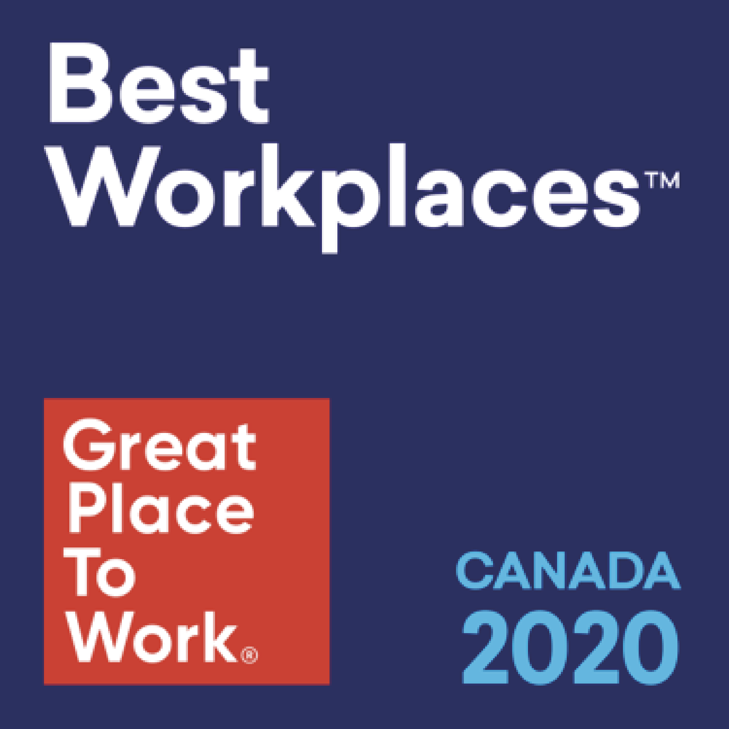 Best Workplaces Canada 2020