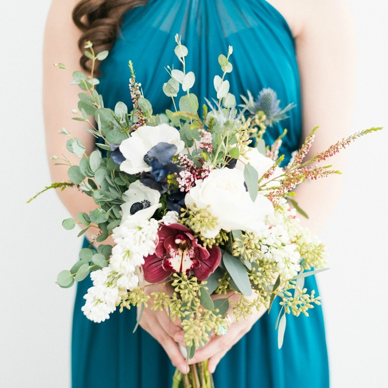 Bridesmaid bouquet.