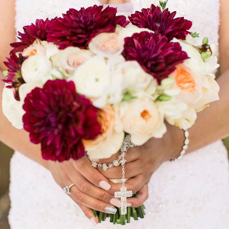 Bouquet Details Shot