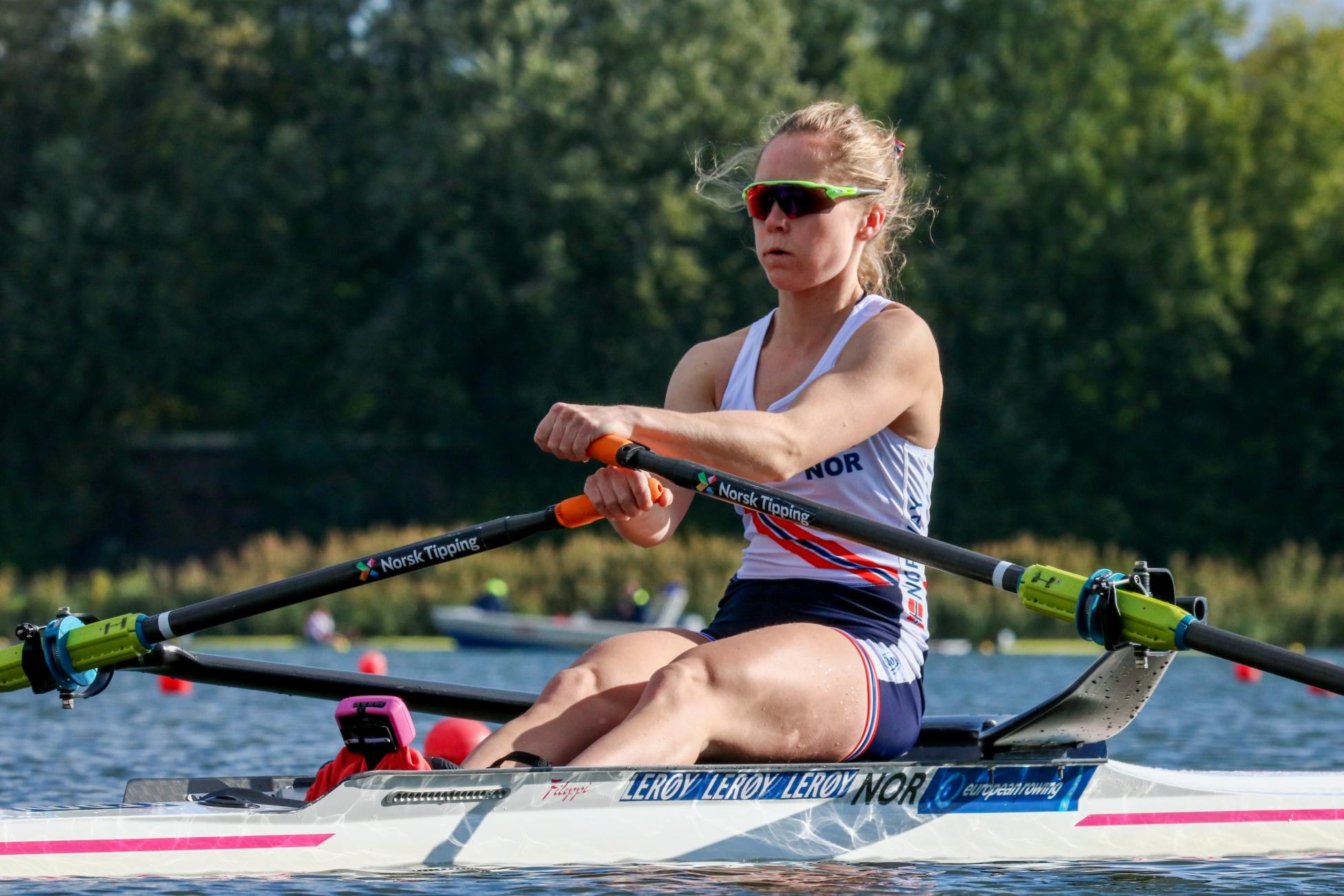 Maia Lund avslutter årets EM med en spurt på høyde med de beste og en fjerdeplass i EM.