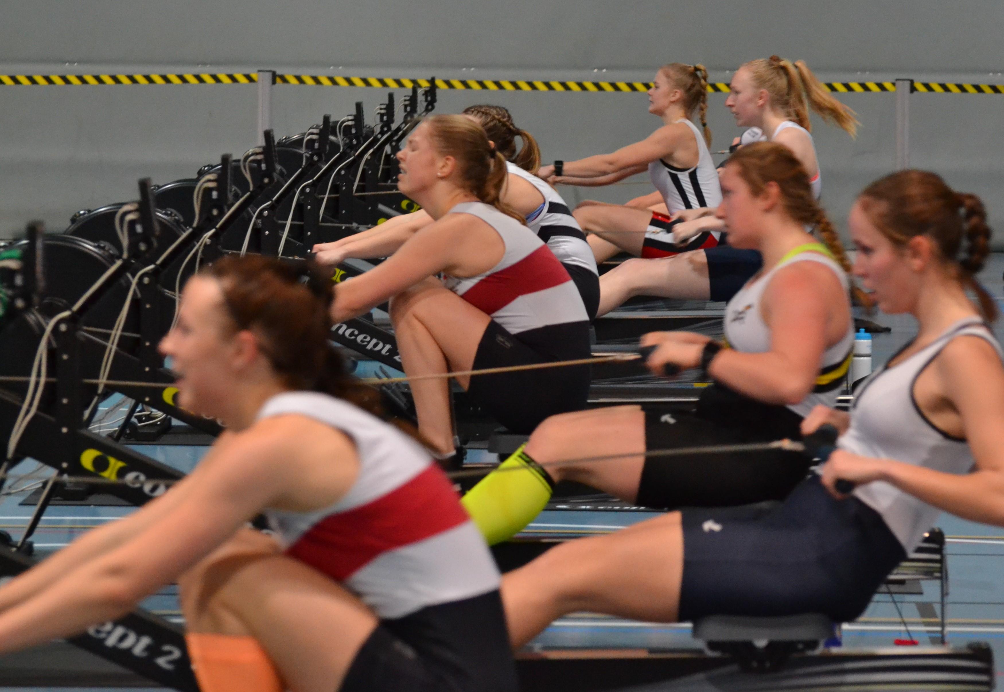 Bilde tatt av Estela Re-Ma under innendørs NM i Bergen 2019.