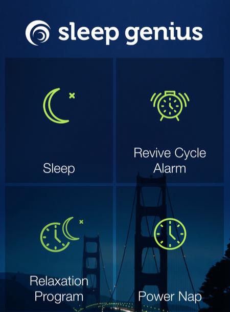 Sleep Genius app screenshot