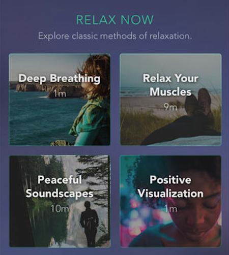 Pacifica app screenshot