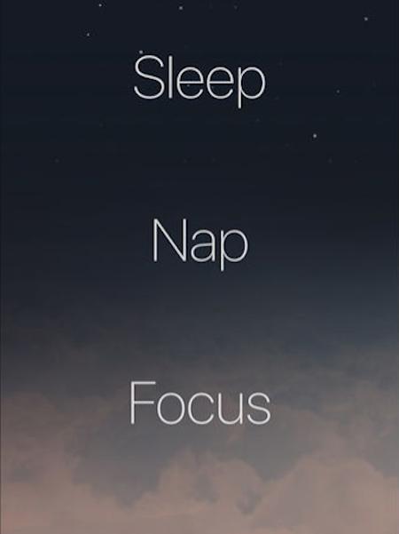 Pzizz app screenshot