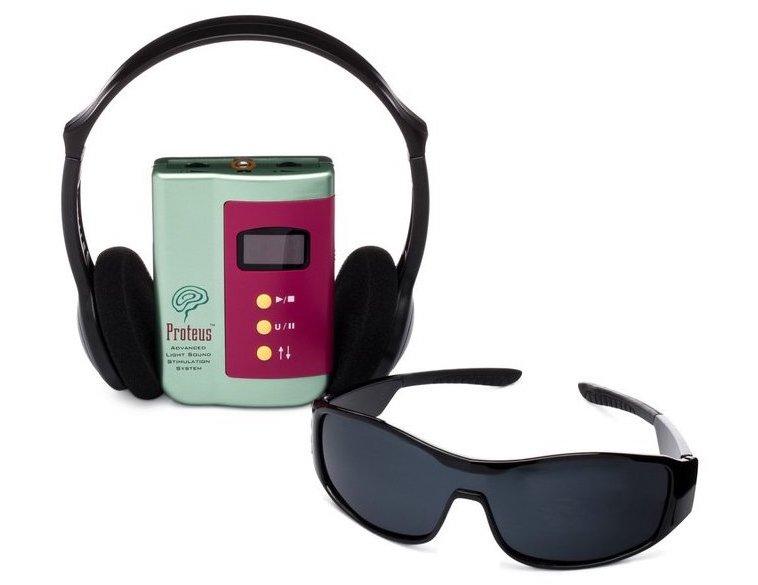 Proteus light & sound stimulation system