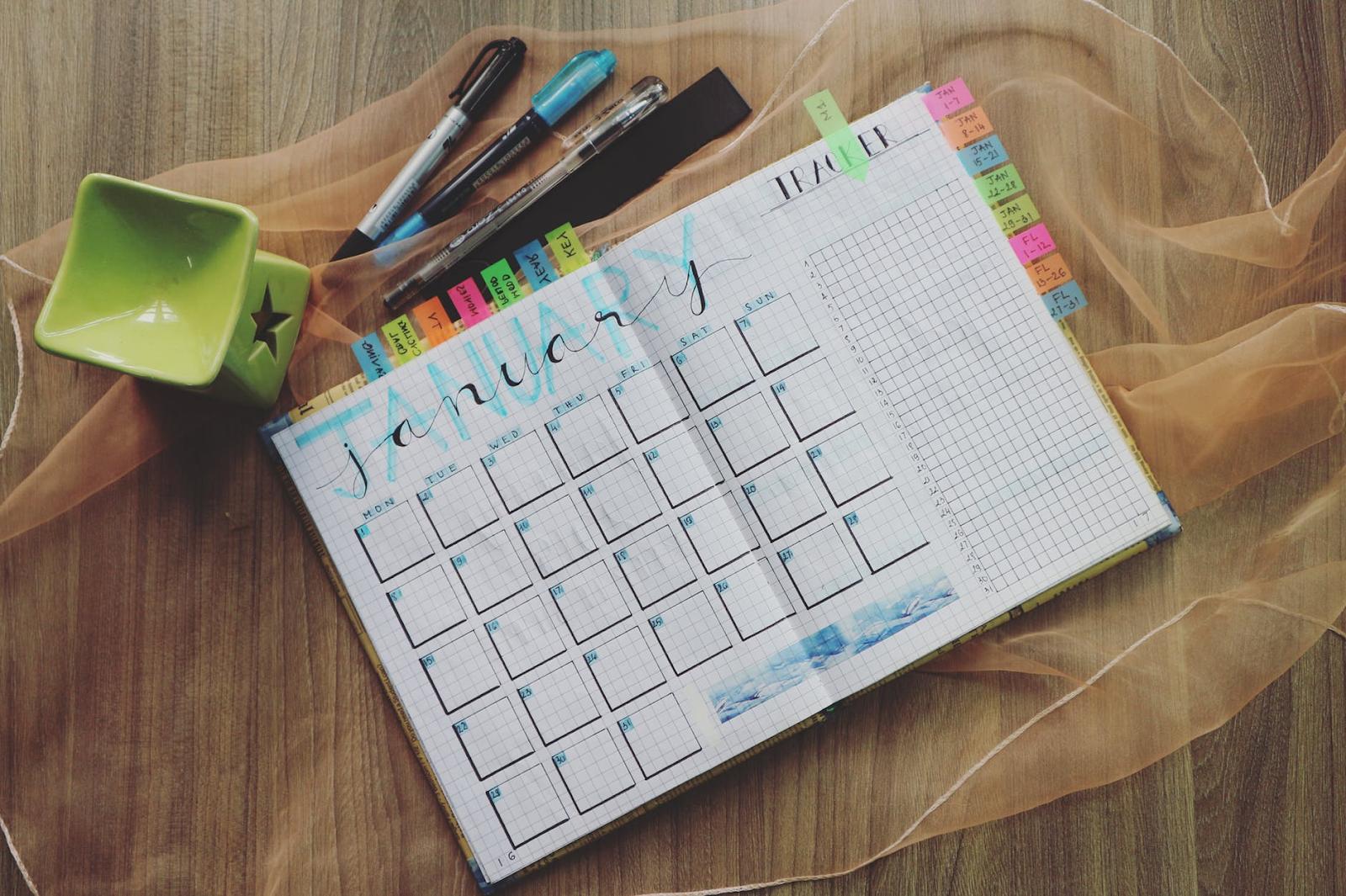Hand Drawn January Planner
