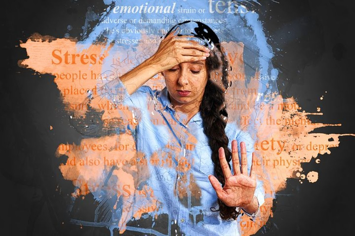 woman experiencing depression and stress