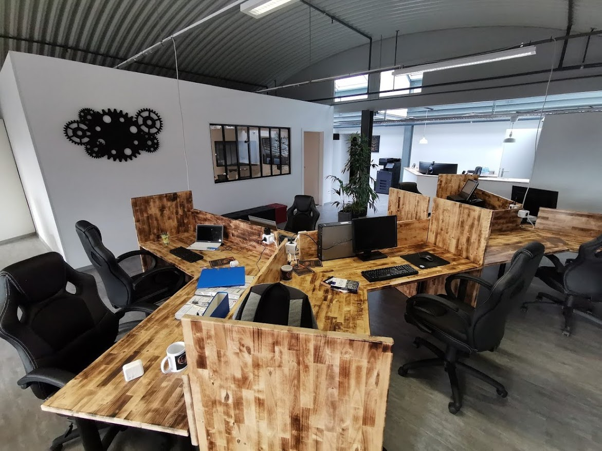 Le Hive Coworking openspace