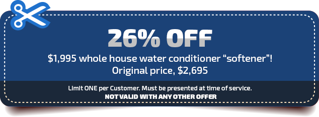 trademark home services house water conditioner softener coupon