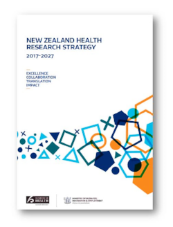 NZ Health Research Strategy document cover