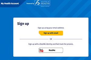 My health account