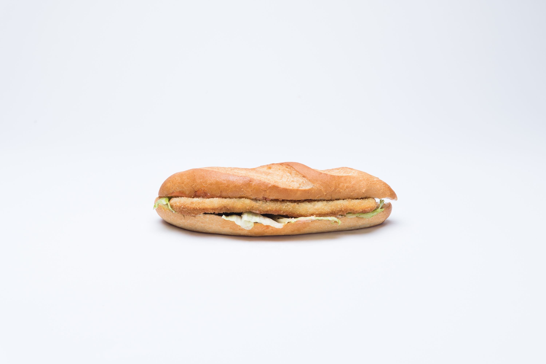 Pouletschnitzelsandwich